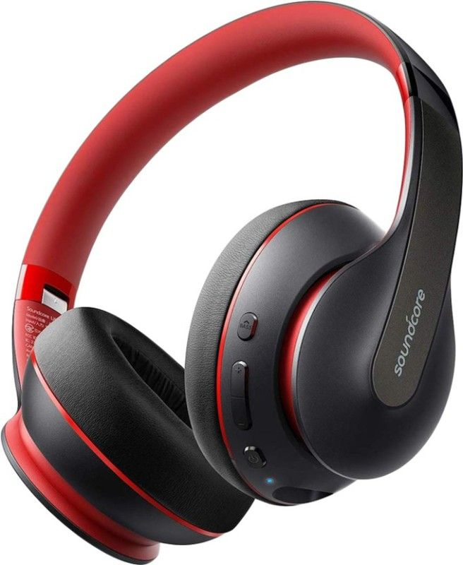 Soundcore Life Q10 With Fast Charging Bluetooth Headset Black On The Ear Bluetooth Headphones Wireless Headphones Bluetooth Headphones