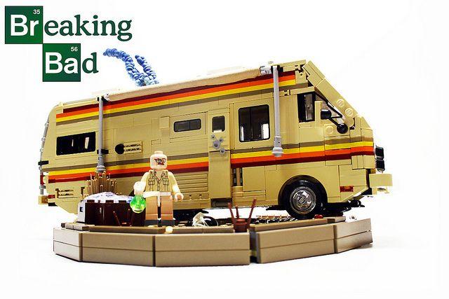 "Breaking Bad by ""Orion Pax"", via FlickrGoogle Image, Bad Lego, Bad Winnebago, Breakingbad, Google For, Legobreak Bad, Lego Breaking, Lego Awesome, Breaking Bad"