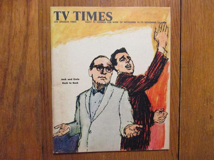 Nov-1968 L. A.  Times TV Week Magazine(JACK BENNY/JOYCE VAN PATTEN/FRANK SUTTON