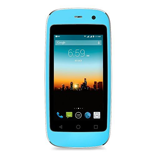 """POSH MOBILE MICRO X, The Smallest Smartphone in the World, ANDROID UNLOCKED 2.4\"""" GSM SMARTPHONE with 2MP Camera and 4GB of Storage. 1 Year warranty. (MODEL"""