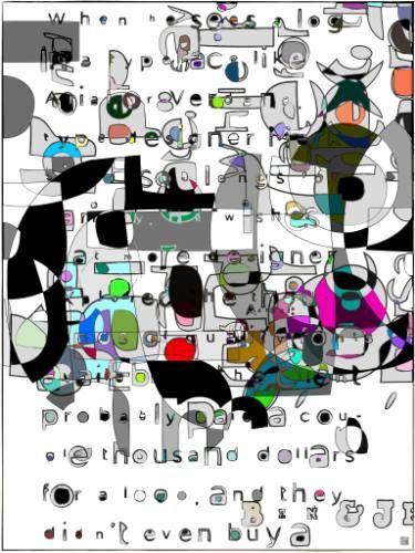 "Saatchi Art Artist JACEK TOFIL; New Media, ""letters on my way"" #art"