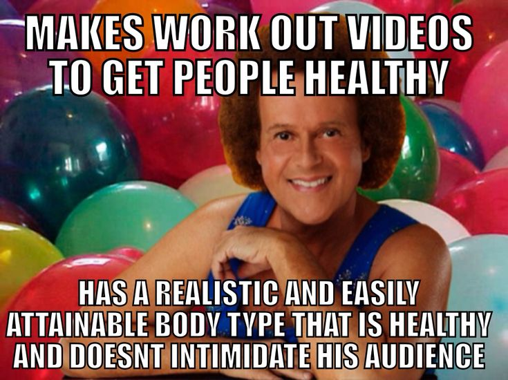 I love Richard Simmons