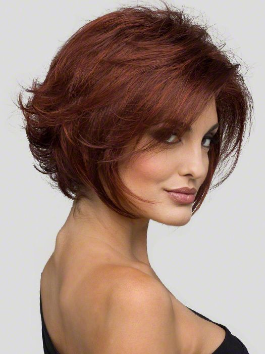 Marvelous 1000 Images About Short Hair Auburn With Highlights On Pinterest Hairstyle Inspiration Daily Dogsangcom
