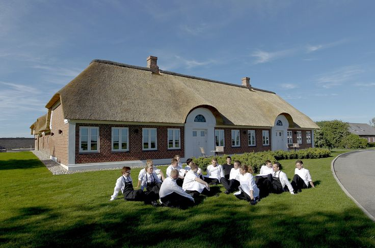 Henne Kirkeby Kro is a danish luxury restaurant and hotel with own organic garden and helipad - don't miss it for the world if you have the money - if not start saving up :-)