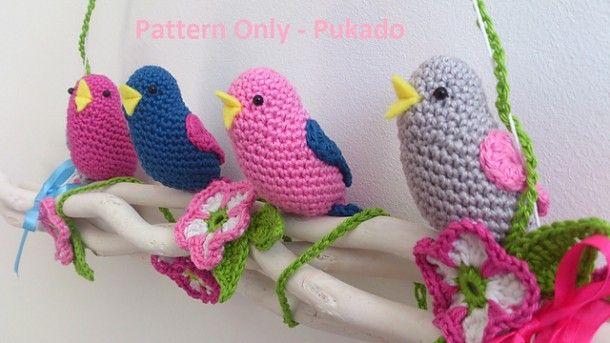 Lente vogeltjes op Ravelry Door Pukado