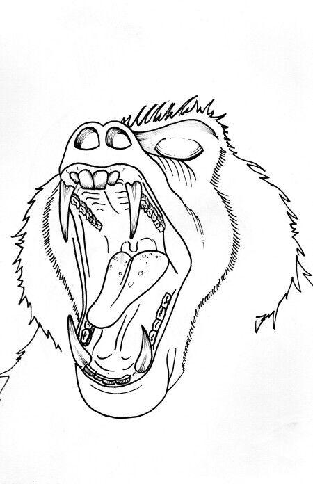 Mandrill 2 illustration