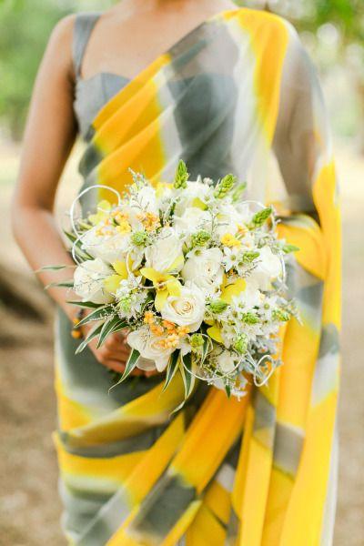Beautiful simple sari.  I love the colors.  Would make great bridesmaid sari.