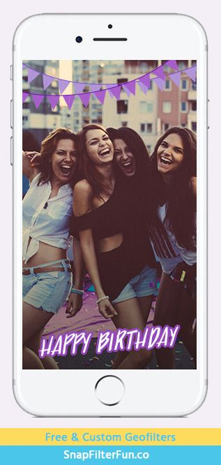 Happy Birthday with flags – Purple http://www.snapfilterfun.co/birthday/hbflagspurple-geofilter.php