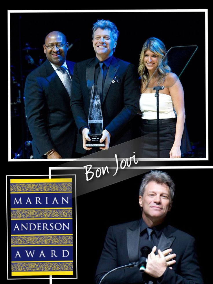 I take my hat off!!! Congrat to #JonBonJovi for the #MarianAndersonAward 2014 #MusicCanChangeTheWorld #Gabriella #Ruggieri