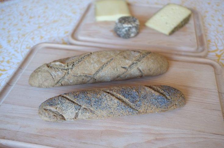 Recette sans glutende baguette rustiquen glutenfree french country baguette