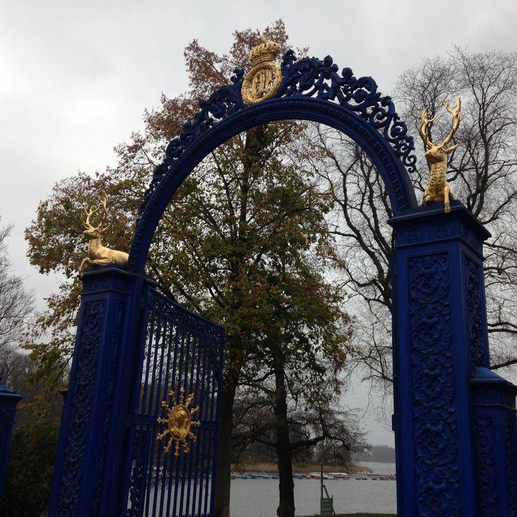 Blå Porten, Djurgården, Stockholm.