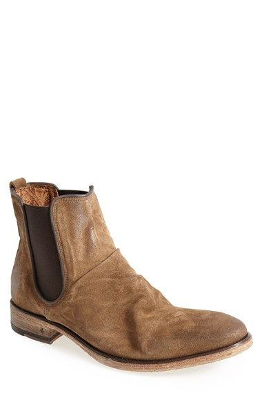 Free shipping and returns on John Varvatos Collection 'Fleetwood' Chelsea Boot (Men) at Nordstrom.com. A slouchy vamp and burnished, well-oiled calf suede bring vintage vibes to a handmade Italian Chelsea boot trimmed with leather piping.