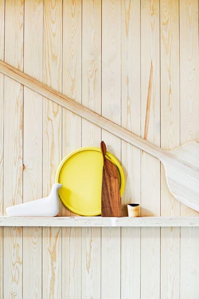 Wood on wood. Styling Anna-Kaisa Melvas, photo Päivi Anita Ristell for Glorian Koti.