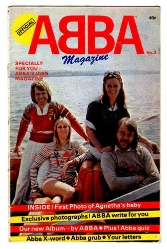 ABBA - OFFICIAL MAGAZINE  1978