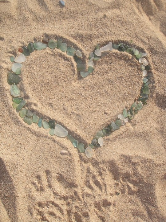 Corsica-sea glass collection