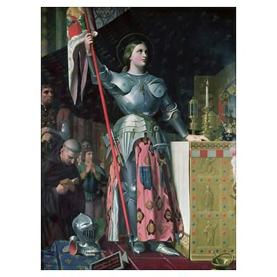 Joan of Arc (1412-31) at the Coronation of King Ch Poster only $19+$21 shipping