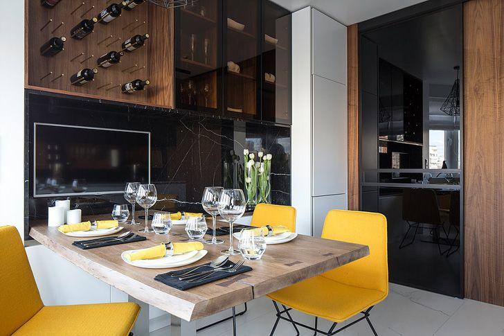 Стильная современная кухня от студии Однушечка | Пуфик - блог о дизайне интерьера