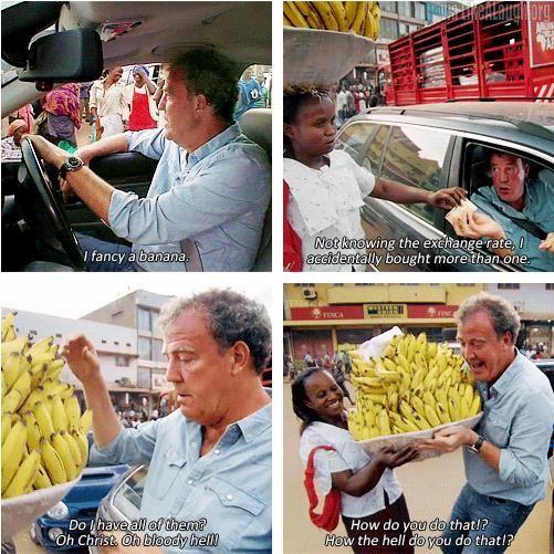 Jeremy Clarkson fancies a banana