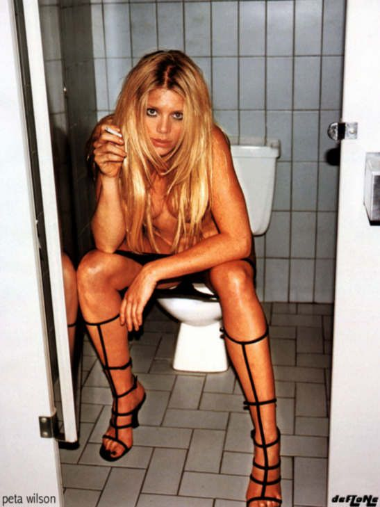 Jenny mccarthy nude toilet