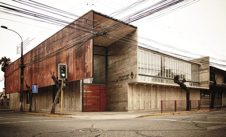 Curricular Administrative Building Lycée María Auxiliadora - Picture gallery