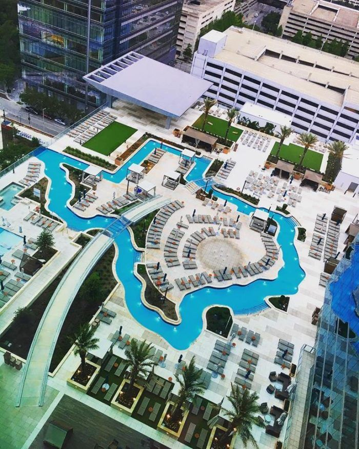 This Texas Shaped Lazy River Is Finally Open To The Public Honeymoon Places Texas Shaped Central Park Manhattan