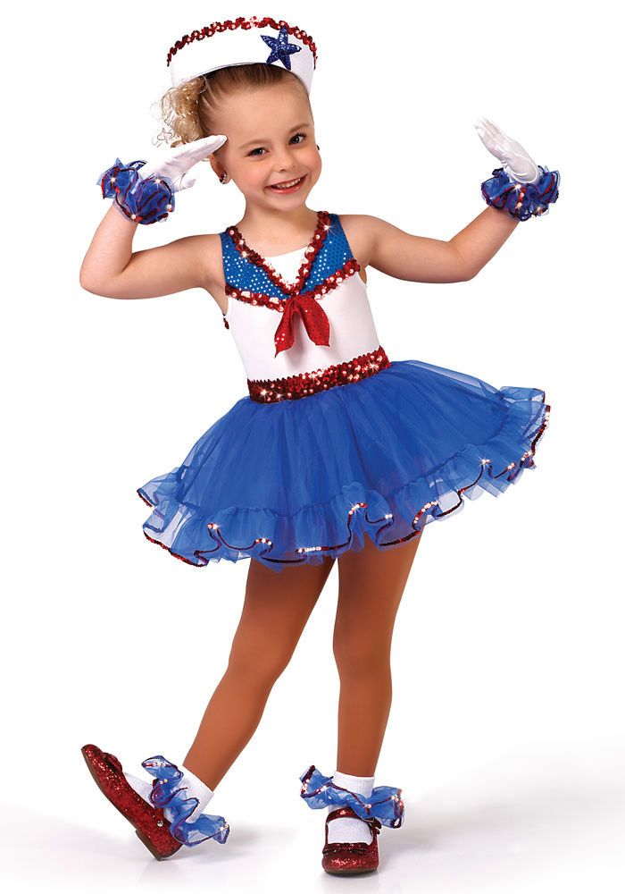 Felicity's Dance Recital Costume - Good Ship Lollipop