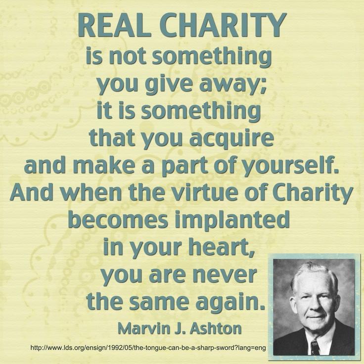 Marvin J. Ashton quote love this man!