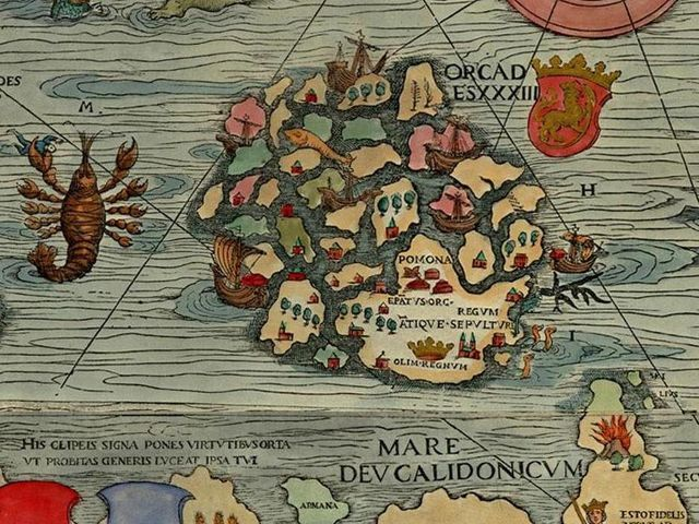 Can You Identify This Place From A Medieval Map?
