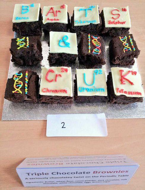 Entry 2: Tasty branded brownies