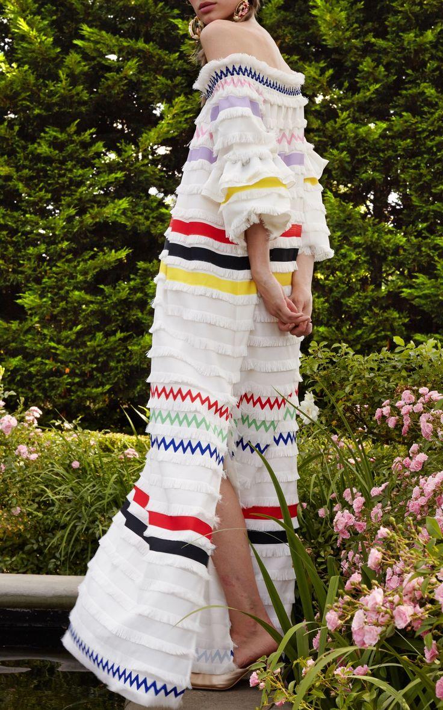 Ditch Plains Fringe Maxi Dress by Cynthia Rowley