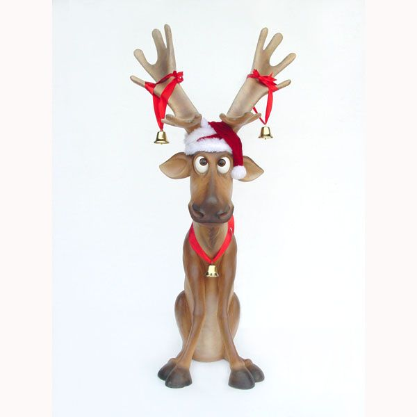 36 Best Funny Reindeer Christmas Decoration Collection Images On