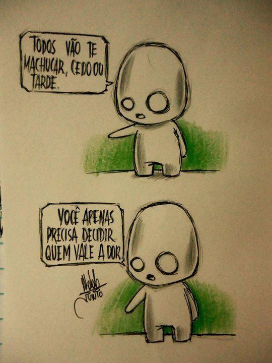 by Desenhos de um garoto solitário