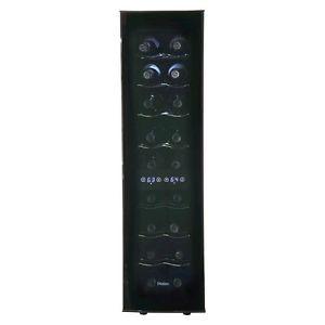 Haier-18-bottle-Ultra-Quiet-Dual-Zone-Tower-wine-cellar-Black-HVTEC18DABS