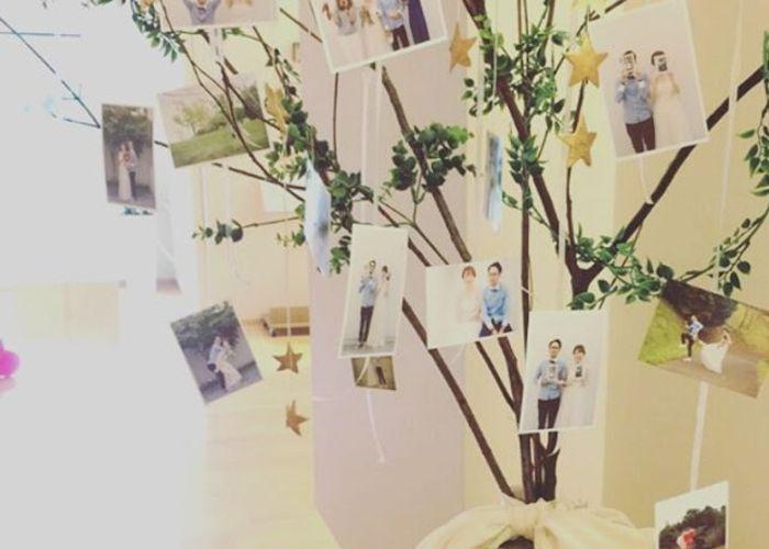 インスタグラムで見つけた♡参考にしたいプレ花嫁さん手作りの『ウェルカムツリー』デザイン8選*のトップ画像