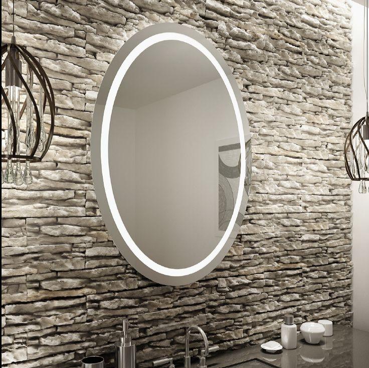 8 best led backlit mirrors images on pinterest backlit mirror homemade ice and glass. Black Bedroom Furniture Sets. Home Design Ideas