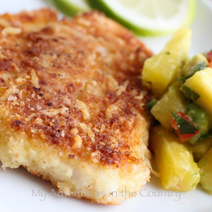 Panko parmesan breaded fish can bake at 375 for 15 for Breaded fish recipe