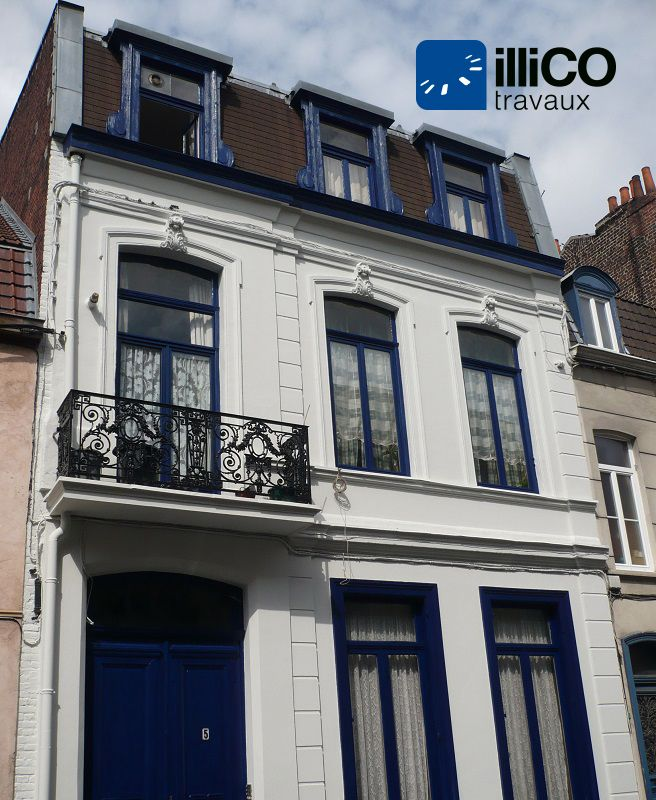 Refaire facade maison ravalement de faade entre nantes et for Nettoyage de facade prix au m2