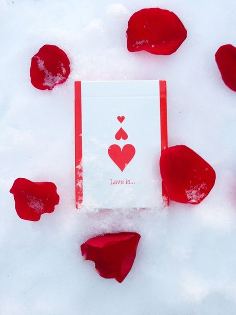 """Love is ..."" Playing Cards by Natalia Silva — Kickstarter"