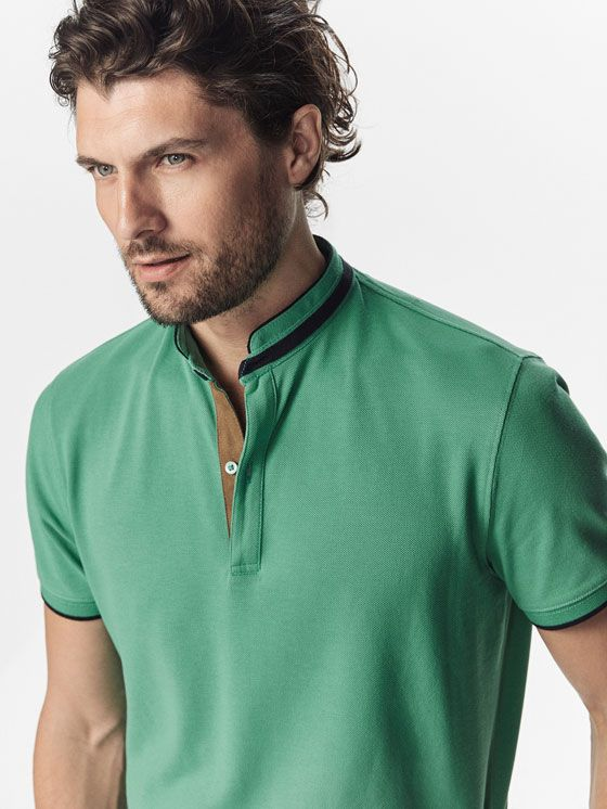 Men's Casual Polo Shirts | Massimo Dutti Spring Summer 2017