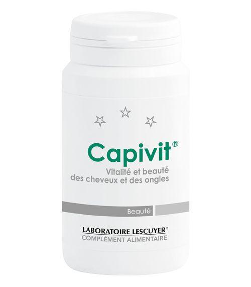 Capivit - Contribue au maintien de beaux cheveux (biotine, zinc) et de beaux ongles (zinc)