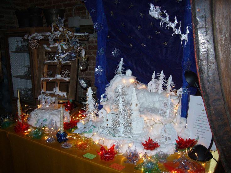 Indimenticabile! Creazioni natalizie con plastica riciclata.