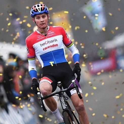 Mathieu Van der Poel et Sanne Cant remportent la 5 ème manche de la Coupe du Monde de Cyclo-Cross, à Zeven, en Allemagne !...