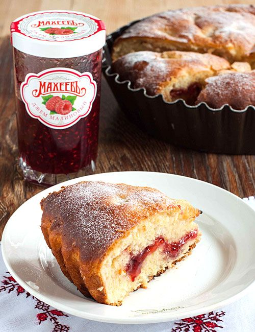 Воздушный ягодный пирог - рецепт с фото