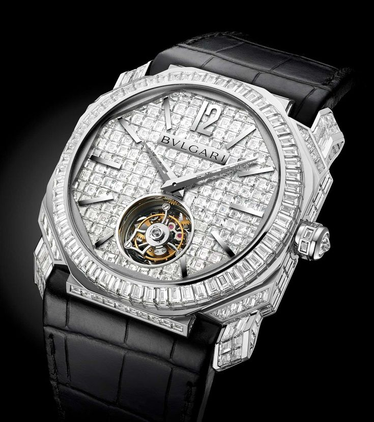 Bulgari Octo Finissimo Tourbillon, diamond-set version ref. 102268