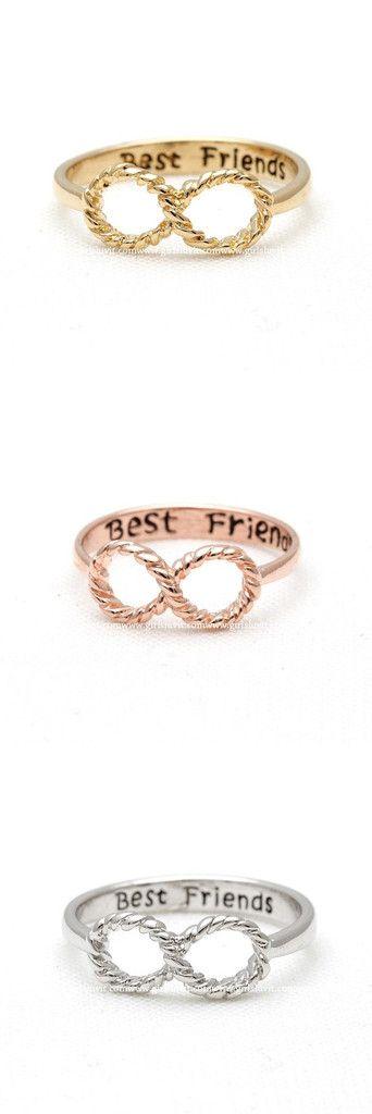 which one is ur favorite? /#infinity, #bestfriend #ring