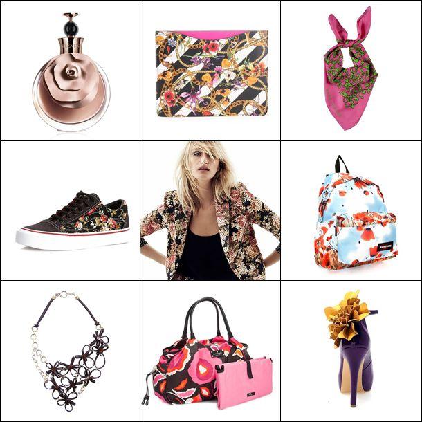 Floral desenlerden çiçek apliklere, ayakkabılardan  parfümlere kadar bu sene çiçekler her yerde! Romantik esintili çiçekli yılbaşı hediye önerilerimiz için Markafoni Blog'a ;) #moda #hediye #yilbasi #trend #floral #cicek #aksesuar #parfum #flower #luxury #eastpak #marcjacobs #vans #verawang #accessories #shoes #markafoni #flower