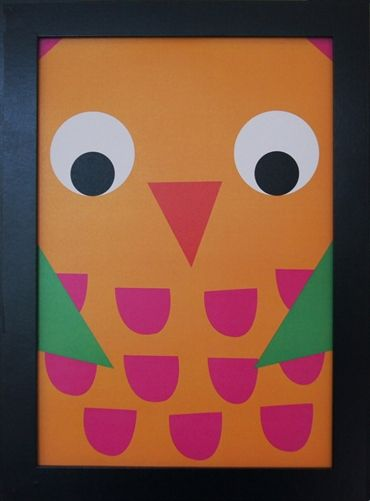 Print Owl. Design Sara Vestberg