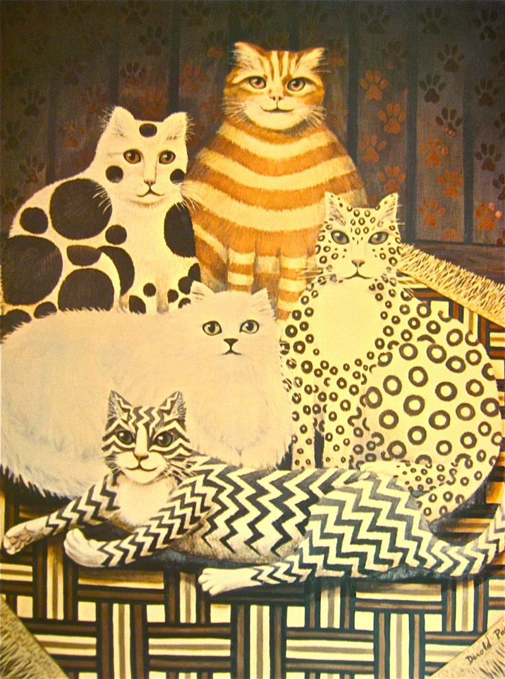 Cat art from EnglandDerold Page Interesting Images of