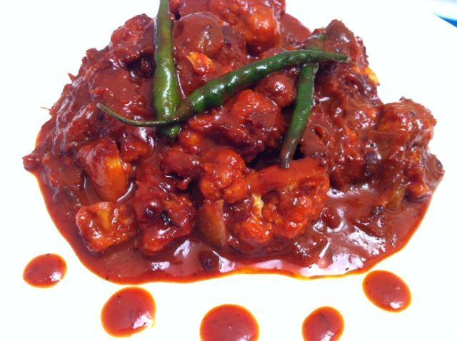 Gobi Manchurian Cauliflower Manchurian recipe. Gopi Manchurian / Cauliflower Manchurian is a gravy recipe made with Chinese sauce