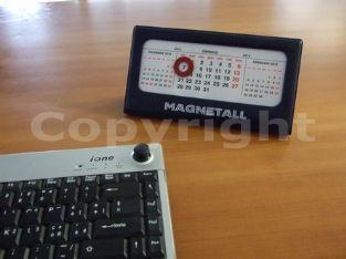 calendario magnetico de escrivaninha antigo/ circulo vermelho com ima grudava no calendario - http://www.magnetall.it/calendario-magnetico.html